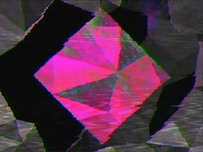 PINK DIAMOND ON BW RETRO