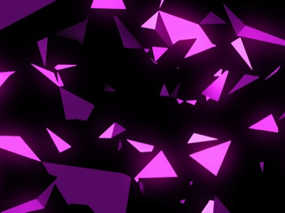 PINK SPACE TRIANGLES
