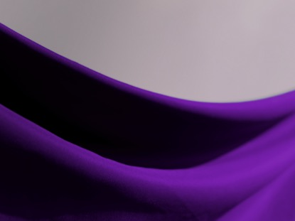 PURPLE SWOOP CLOTH