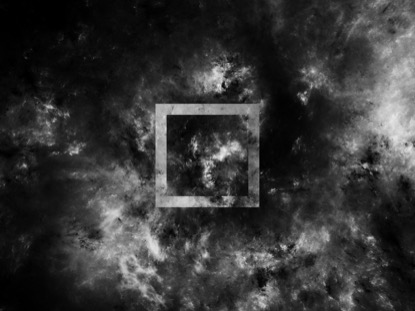 SPACE FLUFF BW SQUARE