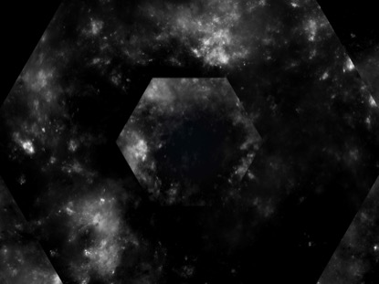 SPACE TWISTER BW HEXAGON