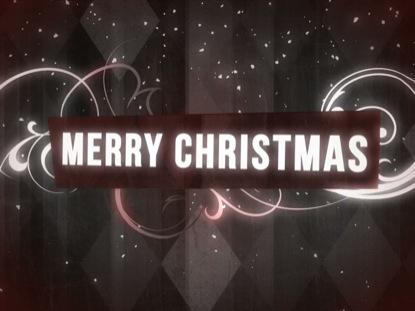 RETRO ARGYLE CHRISTMAS