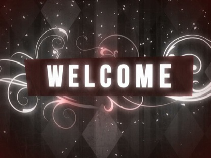 RETRO ARGYLE WELCOME