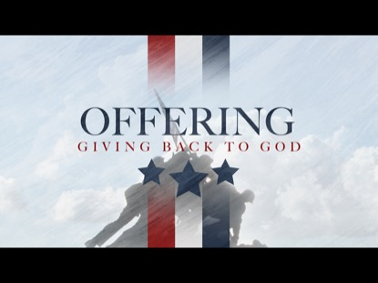 VETERANS DAY OFFERING