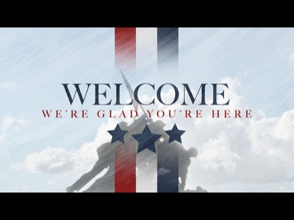 VETERANS DAY WELCOME