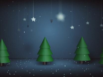A DIORAMA CHRISTMAS SCENE