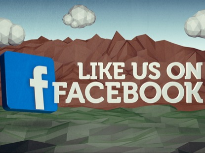 LOW POLY FACEBOOK