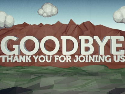 LOW POLY GOODBYE