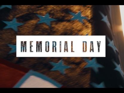 MEMORIAL DAY SUNSET FLAG 1