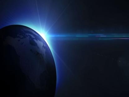 GLOBAL LIGHT LOOP BLUE