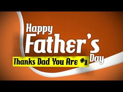 HAPPY FATHER'S DAY SPLASH SCREEN