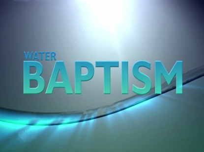 WATER BAPTISM LOOP