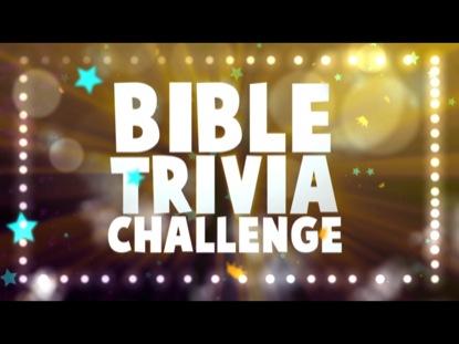 BIBLE TRIVIA CHALLENGE BUMPER