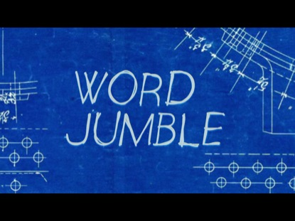 WORD JUMBLE TRIVIA