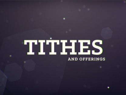 ATMOSPHERE TITHES
