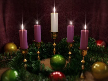 ADVENT CANDLES FIVE LOOP