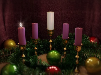 ADVENT CANDLES ONE LOOP