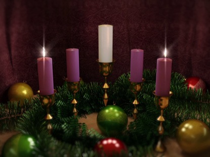 ADVENT CANDLES TWO LOOP