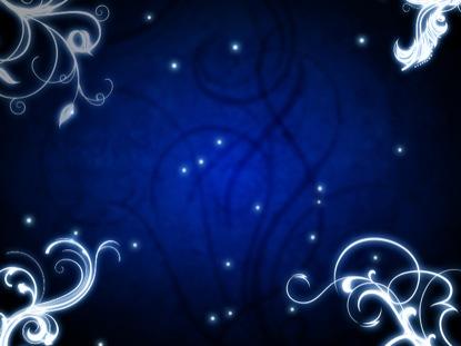 BLUE GLOWING VINES