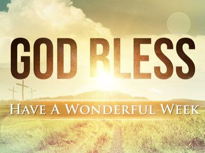 EASTER SUNRISE GOD BLESS LOOP