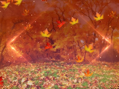 fall background loop hyper pixels media worshiphouse media
