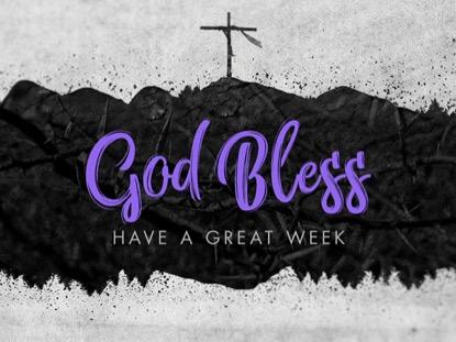 LENT GOD BLESS LOOP