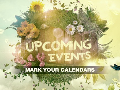 MOTHER'S DAY UPCOMING EVENTS LOOP VOL3