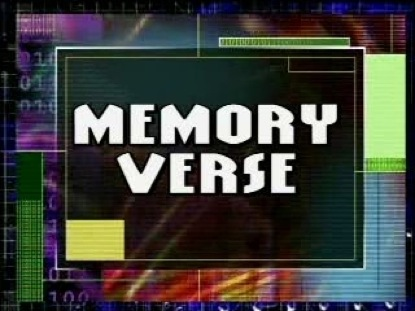 MEMORY VERSE TRANSITION