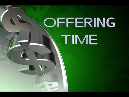 OFFERING TIME 7