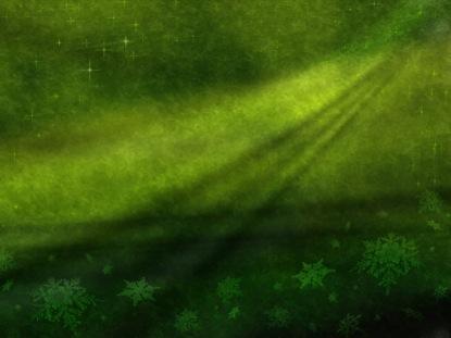 GREEN SNOWFLAKE SWIRL