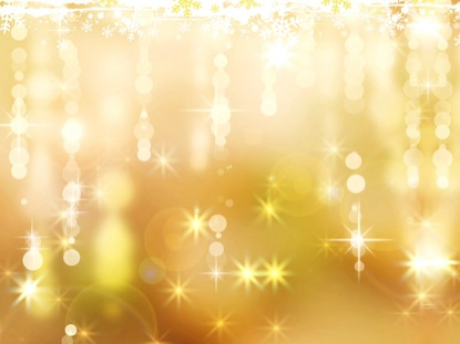 SNOWFLAKES STARS GOLD