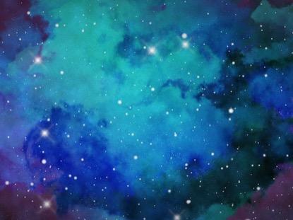 GALAXIES FAR AWAY BLUE