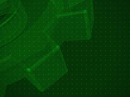 RETRO WIREFRAME GREEN