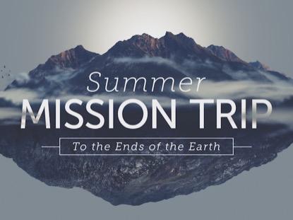 SUMMER MISSION TRIP 2