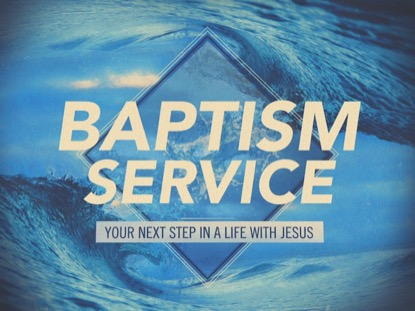 Baptism Service | Igniter Media | Preaching Today Media