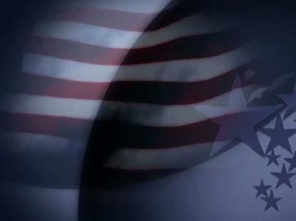 FLAG AND STARS LOOP