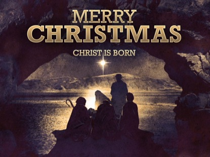 Nativity Merry Christmas