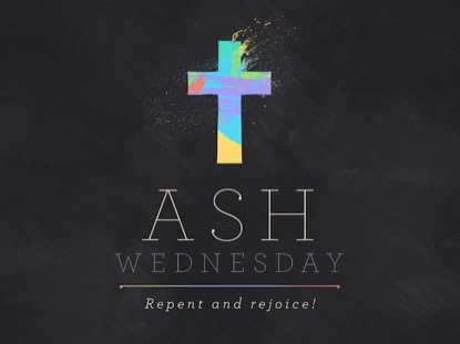 PAINT STROKE ASH WEDNESDAY