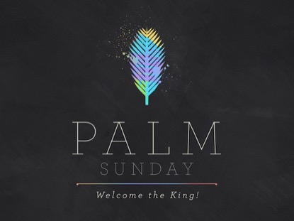 PAINT STROKE PALM SUNDAY