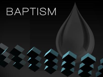 BAPTISM - COLOR CUBES