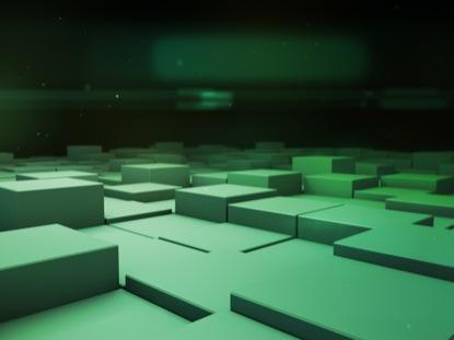 BLOCK SCAPE 2 GREEN