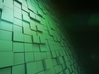 BLOCK SCAPE 4 GREEN