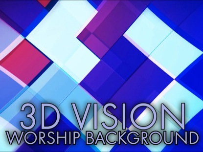 3D VISION WORSHIP BACKGROUND