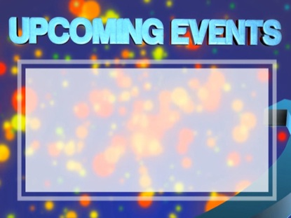 UPCOMING EVENTS SPLASH
