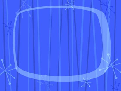 RETRO BLUE LOOP