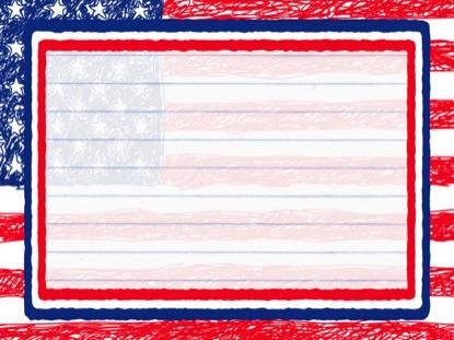 SCRIBBLE FLAG LOOP