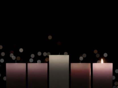 ADVENT CANDLELIGHT HOPE CANDLES
