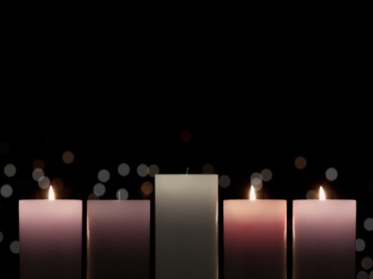 ADVENT CANDLELIGHT JOY CANDLES