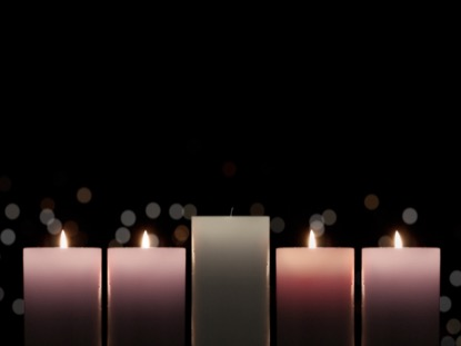 ADVENT CANDLELIGHT PEACE CANDLES
