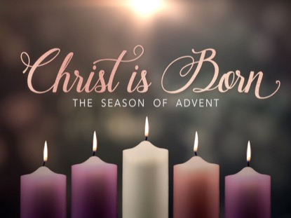 advent candles christ is born life scribe media youth. Black Bedroom Furniture Sets. Home Design Ideas